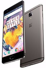 "OnePlus 3T 64GB Gunmetal Grey A3003 (FACTORY UNLOCKED) 5.5"" Full HD , 6GB RAM"