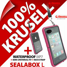 Krusell Sealabox L Case For iPhone 3GS 4 4S Waterproof Mobile Phone Case Cover