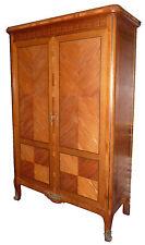 Armoire à chambre marqueterie Etagères Style Louis XV Transition