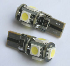 20x Canbus T10 194 168 W5W 5050 5 LED SMD White Car Side Wedge Light Lamp Bulb