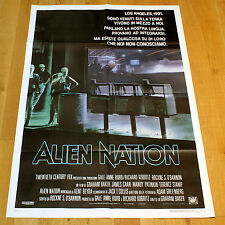 ALIEN NATION manifesto poster affiche Terence Stamp James Caan Los Angeles 1988