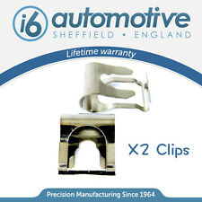 x2 Chrome MGF MG ZR ZS TF ZT WINDSCREEN WIPER MOTOR LINKAGE LINK REPAIR CLIP KIT