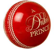 Prince Red Leather Cricket Ball for One Day and Test Matches( Pack of 1 )