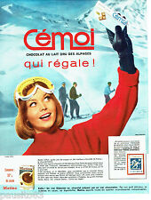 PUBLICITE ADVERTISING 086  1964  Le chocolat Cémoi  Martina