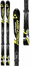 New Fischer Cruzar Fire 170 cm alpine downhill skis and bindings all mountain