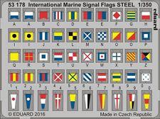 Eduard 1/350 International Marine Signal Flags STEEL # 53178