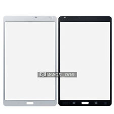 White Samsung Galaxy Tab S 8.4 SM-T700 Outer Screen Glass Lens Panel Replacement