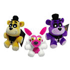 New Style Five 5 Nights At Freddy's Purple Golden Fazbear Mangle Plush Toys FNAF