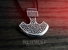 Viking Axe Pendant - 925 Sterling Silver - Norse/Medieval/Celtic/Perun/Odin/Thor