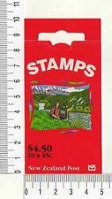 11532) NEW ZEALAND 1995 Booklet - Nature Animals NZ$ 0.45 x 10
