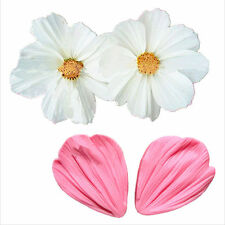 NEW Daisy Petals Silicone Mold for Fondant, Gum Paste, Chocolate or Cake Decor