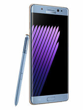 SAMSUNG GALAXY NOTE 7 NOTE7 SM-N930F SMARTPHONE PHABLET BLUE CORAL NEW SEALED O2