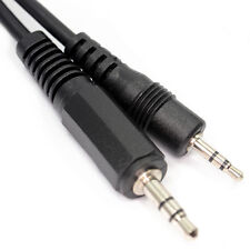 1m 1 Metre  2.5mm Stereo  Male Jack Plug to  3.5mm Stereo Male Jack Cable D1808