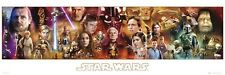 "STAR WARS DOOR POSTER 158x53cm ""Complete Character Collage"" NEW Licensed"