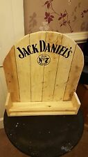 Jack daniels hand made retro urban chic bottle shelf/display rack 70 CL