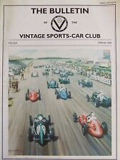 THE BULLETIN VINTAGE SPORTS-CAR CLUB #222 SPRING 1999 HANS RENOLD WOLDS RALLY