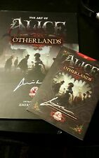 Alice Otherlands American Mcgee's SIGNED RARE !!!! (alice madness returns)
