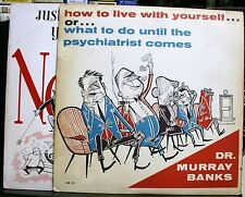 RECORD DR. MURRAY BANKS NORMAL HOW TO LIVE WITH YOURSELF PSYCHOLOGY COMEDY SEX