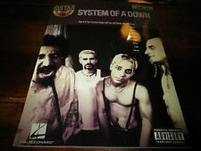 SYSTEM OF A DOWN - Livre de partitions / Scores Book !!! VOL 57 !!!
