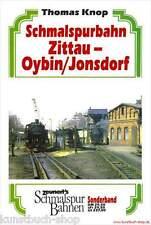 Fachbuch Schmalspurbahn Zittau-Oybin/Jonsdorf, Zittau-Reichenau-Markersdorf NEU