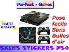 Skin sticker auto-collant vinyl Thief n°1 pour console SONY PS4
