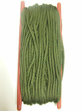 50FT 15 METER GREEN NYLON ARMY STYLE PARA PARACHUTE CORD PARACORD ON SPOOL