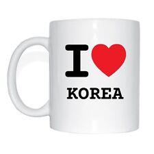 I love KOREA Tasse Kaffeetasse