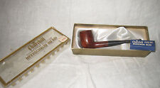 Vtg NOS CHURCHILL 799 Meerschaum Imported Briar Wood Tobacco Smoking Wood Pipe