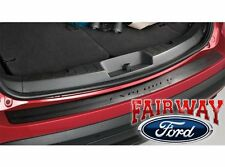 2011 thru 2015 Explorer OEM Genuine Ford Parts Black Rear Bumper Protector NEW