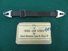 REPLACEMENT STRAP FOR THE WW2 LEATHER NAVY TRAINING / BLAST HELMET      #EQ104