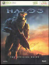 Halo3 XBOX 360 Live Video Game Strategy Tips Cheats Maps Official Guide Book