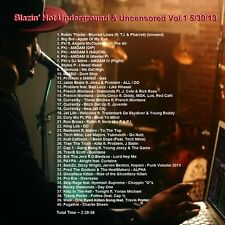 Promo Video Compiled DVD, Blazin Hot Underground & Uncensored 5-30-13 Vol.1 ONLY