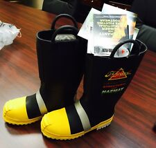 THOROGOOD SHOES 807-6003 Ins Fire Boots, Mens 1 PR SIZE 6