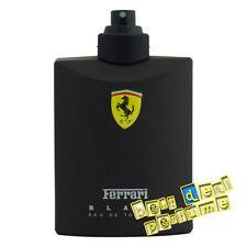 Ferrari Scuderia Black by Ferrari 4.2 oz EDT for Men Tester 125ml Spray New