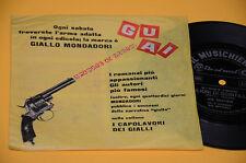 """7"""" 45 FLEX DISC (NO LP ) JOE SENTIERI MILIONI DI SCINTILLE OTTIME CONDIZIONI"""