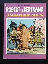 Robert et Bertrand Vandersteen Le drame de marie Souillon N° 5 EO TBE