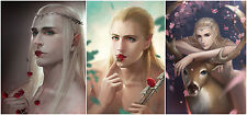The Hobbit Lord of the Rings Thranduil Legolas Poster Collection 42*28cm 3p