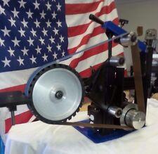 """Limited  AMK-77 2X72 Belt Grinder, 1.5hp motor, 12"""" Serrated Wheel """"SPECIAL"""""""