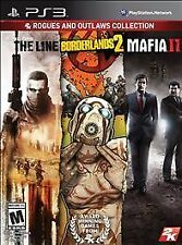 Outlaws & Rogues Collection - XBOX 360 - The Line - Borderlands 2 - Mafia II, (X