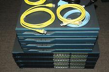 Cisco CCNA CCNP CCIE Lab with 4x CISCO1841 WS-C2960-24-S WIC-2T 180DaysWty
