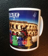 Dr Who Daleks as Tourists in Rome, Italy Mug