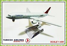 16 CM BOEING 777 TURKISH AIRLINES AEROPLANE METAL PLANE MODELS TURKEY  JET  TOYS