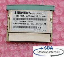 Simatic Ram KarteMC951 - 1MB  für S7-300 kurze Ausführung   6ES7 951-1AK00-0AA0