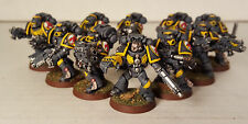 Warhammer 40k Space Marine Tactical Squad Red Scorpions  ForgeWorld Painted 1