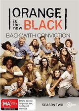 Orange is The New Black SEASON 2 : DVD Region 4