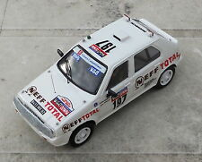 Citroën Visa n° 197 Paris-Dakar 1985 - Kit monté Mini-Racing 1/43