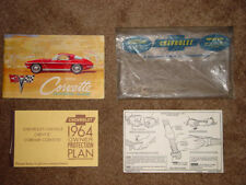 1964 Corvette Factory Original GM Owners Manual Set Complete 40837S110208 Coupe