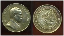 Médaille LOUIS PASTEUR états fédères d'Europe 1 Europa 1928