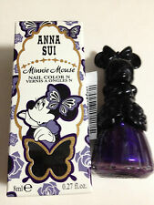 Anna Sui Minnie Mouse Nail Color # 200 Midnight Purple Limited Ed