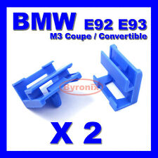 BMW 3 Series E92 E93 M3 Coupe Convertible SIDE SILL SKIRT TRIM CLIPS PLASTIC